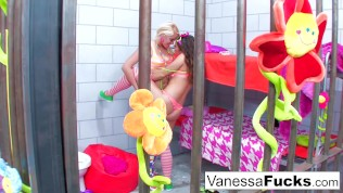 Vanessa And Natasha Jail Adventure