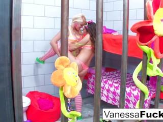 Vanessa And Natasha Jail Adventure