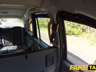 Fake Taxi Amber Deen gets a hot horny taxi hard fuck and a big facial