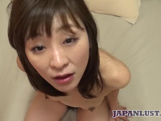 Petite Japanese Milf Enjoys Toys and Big Dick