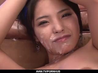 eririka katagiri storng facial in xxx play – extra at 69avs com