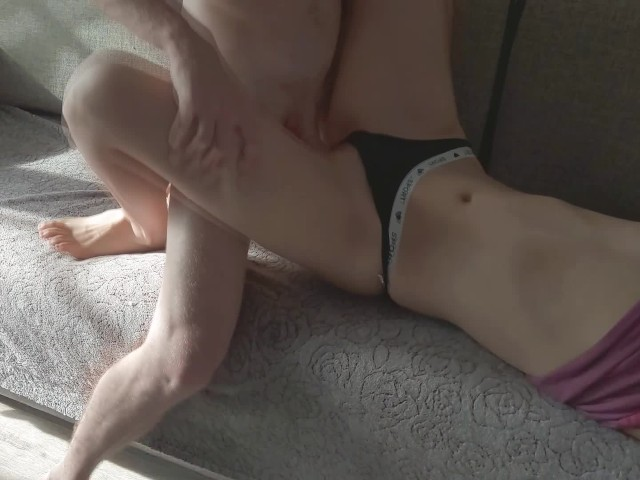 Caught Young Step Sister While Masturbating and Gets Creampie - Lazycookies