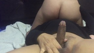 Oops! my husband's best friend fucks me and leaves my pussy full of sperm