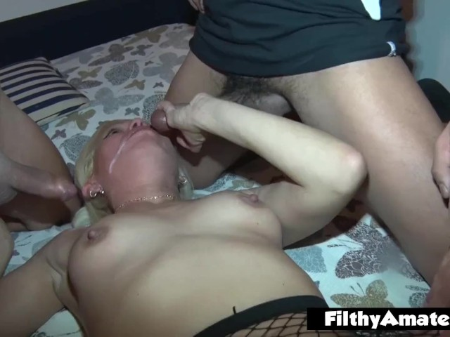 The Greedy Housewife With Cocks, the Married Woman Next Door in an Orgy