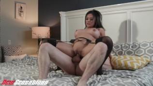 New Sensations - Curvy MILF Kaylani Lei Bouncing On Big Dick