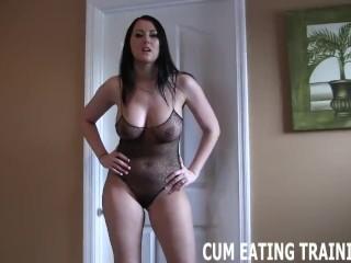 CEI Femdom And POV Cum Eating Videos