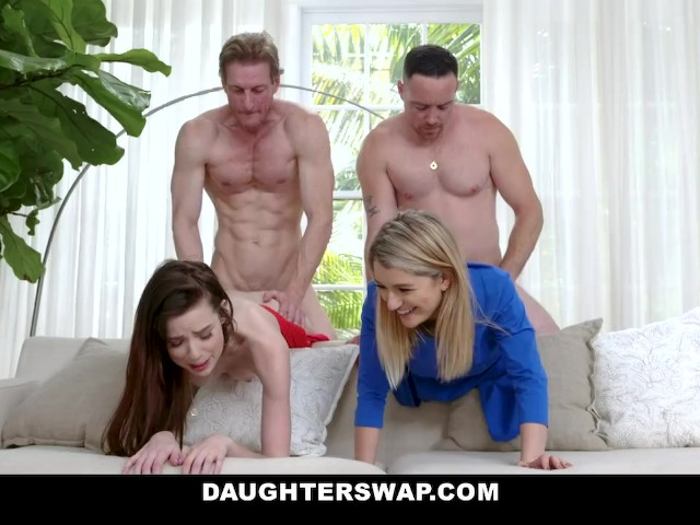 DaughterSwap - Fit Dads Share Their Stepdaughter's Pussies
