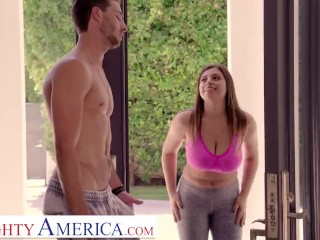 naughty america - jenna (ella knox) plays with her best friend's boyfriend