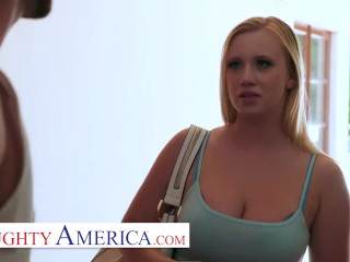naughty america - bailey brooke gives her friend's little brother her ASS