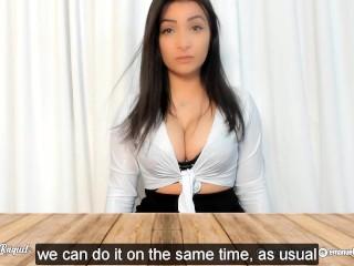 ROLEPLAY SEX IN THE OFFICE WITH YOU sexo no escritório com você