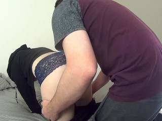 Teen Virgin Gets Trained To Take Massive Cock
