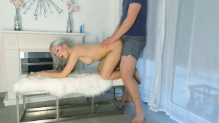 visit-x | ani-bunny´s first fuck video with man in boxers - doggystyle
