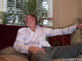 naughty america - rachel roxxx hot fucking in the couch