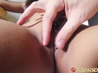 ASIANSEXDIARY Petite Asian Teen Fucked With Creampie