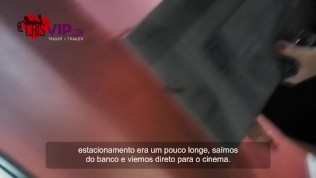Hotwife with cuckold husband in the cinema – Cristina Almeida
