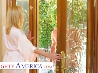 naughty america - briana banks plays with her son's hot friend