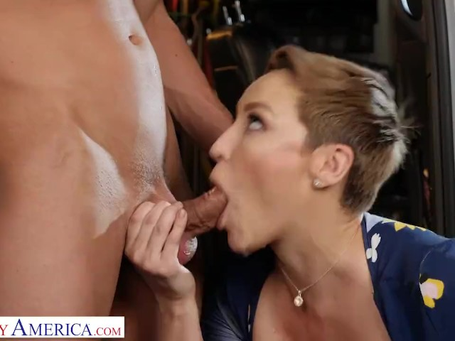 Naughty America - Ryan Keely Gives It to for a Discount at the Mechanic