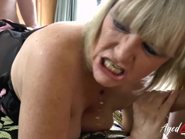 Agedlove Busty Lady Hardcore Threesome
