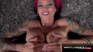 Mega Hot MILF Anna Bell Peaks Amazing Blow Job - Spizoo