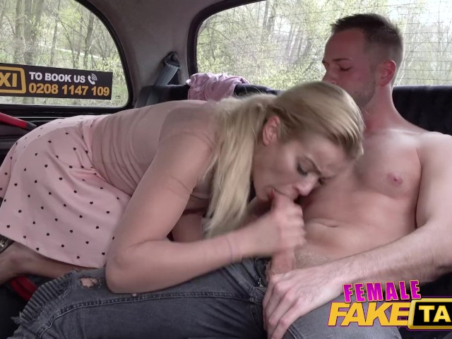 Female Fake Taxi Sweet Cherry Kiss Sex With the Hunky Footballer