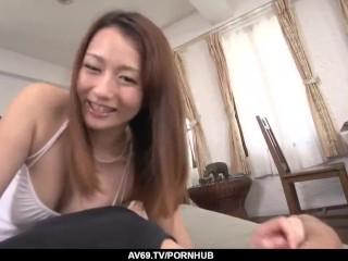 perfect pov hot sex with reon otowa - more at 69avs com