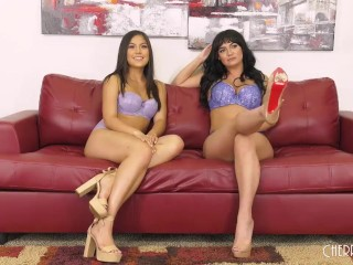 Lesbian Sex Live With Asian Brunette Kendra Spade and Big Tits Charlotte