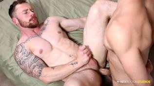 Barebacking My BF's Boyfriend! - NextDoorBuddies