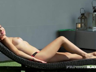 PrivateBlack - Amazing Brunette Sasha Rose Ass Banged & Cummed On Her Face!