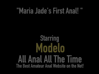 Hot Miami Girl Maria Jade Does Her First Rimming Filled Gaping Anal Fuck!