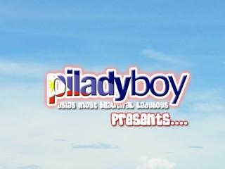 Chubby/big her jerking filipino ladyboy