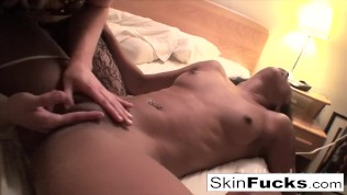 Hotel Room Fun With Blonde Ash