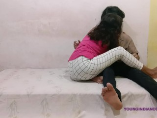 indian teenagers fucking cumming inside her tight pussy