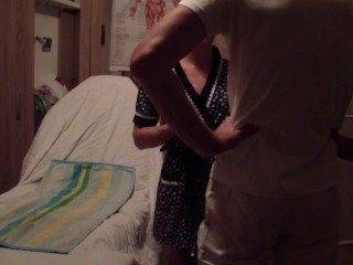 New adventures of young russian student on sexual massage examination