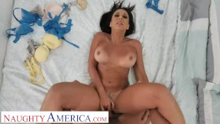 Naughty America Rachel Starr pov fuck session with husband