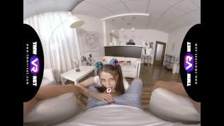 TmwVRnet.com -Alita Angel- Lollipop and dick in gentle hands