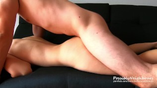 Can´t handle this tight pussy. Came twice [Pulsating Creampie]