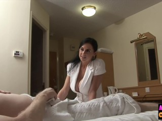 curvy cfnm hot babe fucked by amateur
