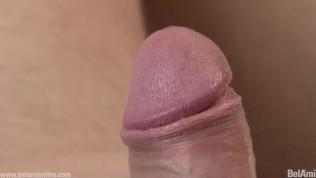 Cute guy masturbating