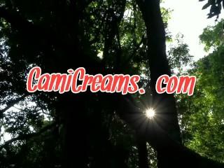 (Audio) Black Big Ass Twerk Outdoors Public Park Basketball - Cami Creams