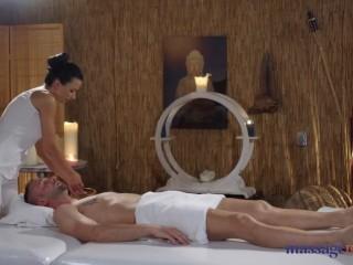 Massage Rooms Erotic massage with sexy big tits Romanian Shalina Devine