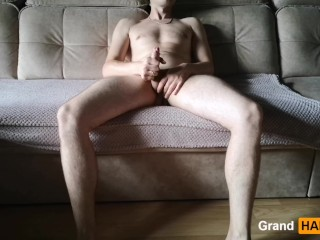 Stroking/up/grandharwest my dick a sucked