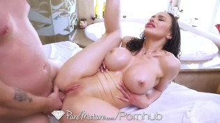 PUREMATURE Big Tit Mature Jessica Jade Anal Pounded