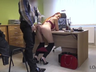 loan4k. agent is ready to give hottie credit after playing with