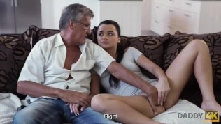 daddy4k. man satisfied sexual needs of his sons girlfriend