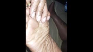 Black Love- ebony bbw takes passionate anal