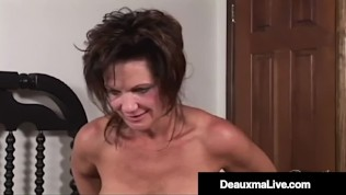 Texas Cougar Deauxma Squirts Her Juice While Fucking Magdalene St Michaels!