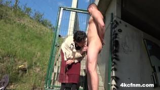 Granny Punishes Me In Public