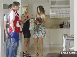 Private.com Presents - Mega Beauties Vanessa Decker & Vinna Reed Anal Fuck!