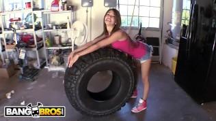 BANGBROS - Petite Venezuelan Hottie Veronica Rodriguez Getting Slammed