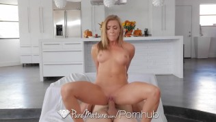 PUREMATURE Busty House Wife...